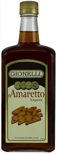 Gionelli Liqueur Amaretto 30@ 1.00l - Case of 12